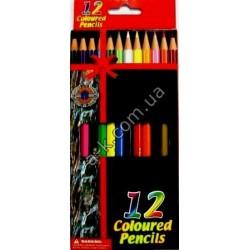 "Карандаши ""Coloured-Pencils""-12цв."