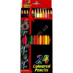 "Карандаши ""Coloured-Pencils""-24 цв."