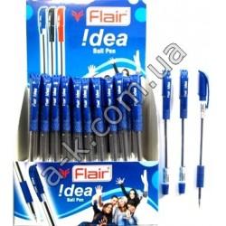 """Idea"" Flair ручка масл.син."