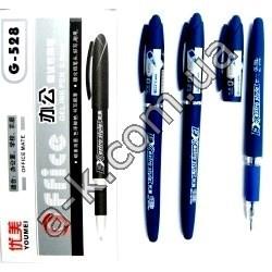 Ручка гелевая 528.син.